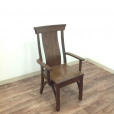 B & O Railroad Trestle Bridge Arm Chair