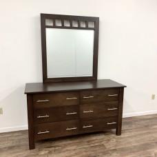 East Village 6-Drawer Dresser with Mirror