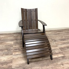 Wipe Out Adirondack Chair and Ottoman