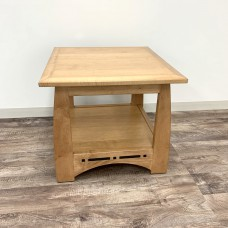 Aspen End Table with Inlay