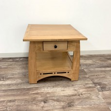 Aspen 1-Drawer End Tablewith Inlay