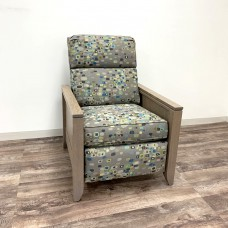 5th Avenue Power Recliner with Justine Arms