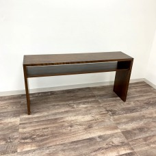 Dovetail Sofa Table with Shelf