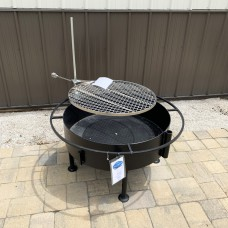 Fire Pit with Campfire Grill